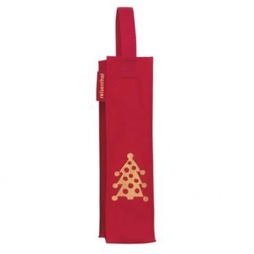 Reisenthel - Bottlebag (Rood met Kerst thema) (set van 5)
