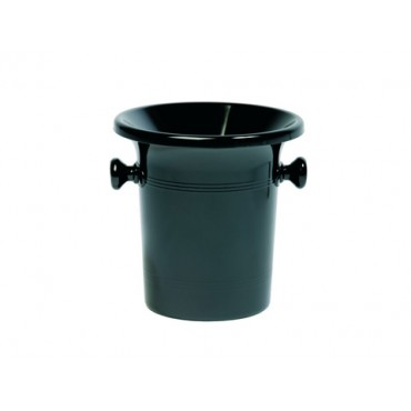 Spittoon / Spuugbak 3 Liter zwart (prijs per stuk)