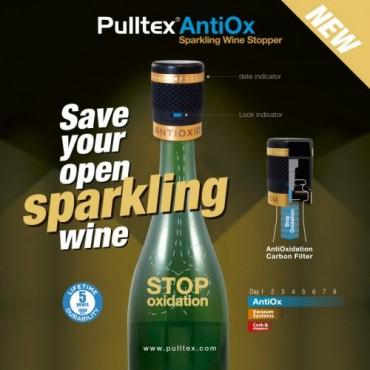 Pulltex - AntiOx Sparkling champagneafsluiter champagnestop