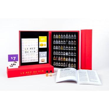Le Nez du vin - The Masterkit (54 aromas) NL en Foute Geuren 12 Aromas NL