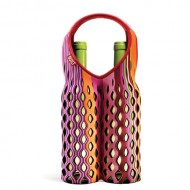 Built NY Fishnet Two Bottle Tote Nolita Stripe