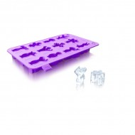 Vacu Vin - Ice Cube Tray Party People (paars)
