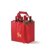 Reisenthel - Bottlebag (Rood met Kerst thema)