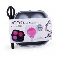KOALA® Duo XXL Ice Ball tray met tang