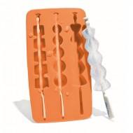 Fred - IJsblokstokjes Ice Kabobs (Oranje)