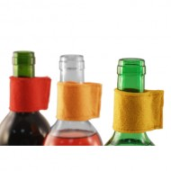 KIH Druppelkraag Coulor Vilt set van 3 Rood Geel Oranje