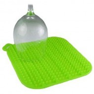 Make My Day - Luminous Wijnglasdroog mat (Groen)