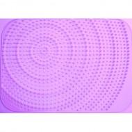 Make My Day - Volumineus Wijnglasdroog mat (Paars)